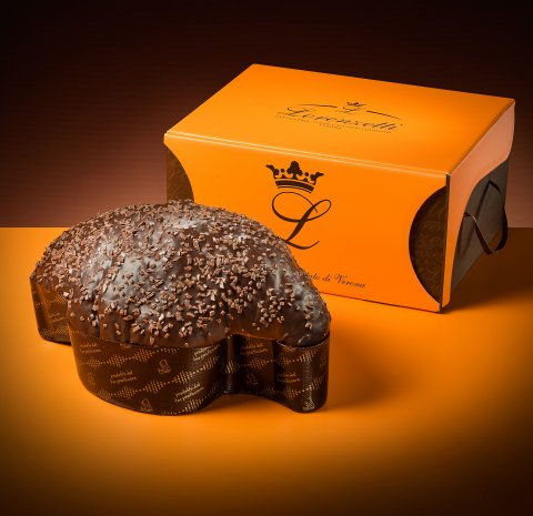 Colomba gianduia